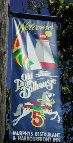 Old Port Dalhousie Welcoming Sign