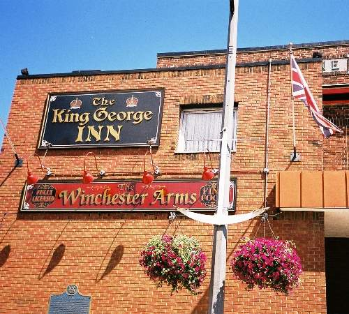 Port Colborne - King George Inn & Winchester Arms restaurant