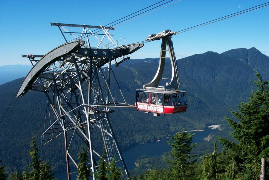 Grouse Mountain Skyride, Wikimedia Commons