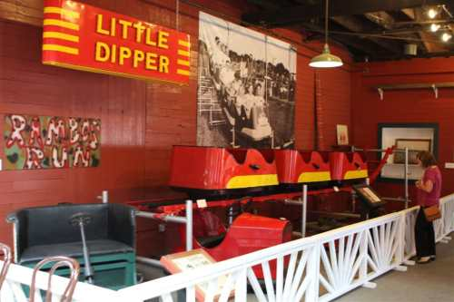 Part of original Little Dipper from Crystal Beach