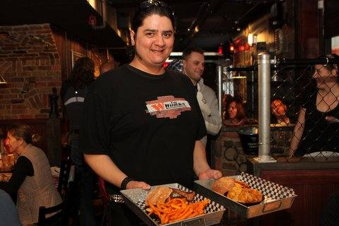 Krist Ladva Delivers Gourmet Hamburgers At The Works