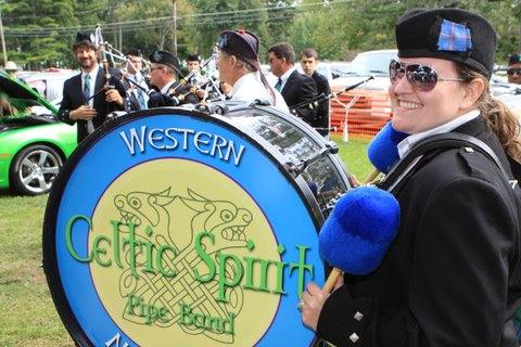 Celtic Spirit Pipe Band