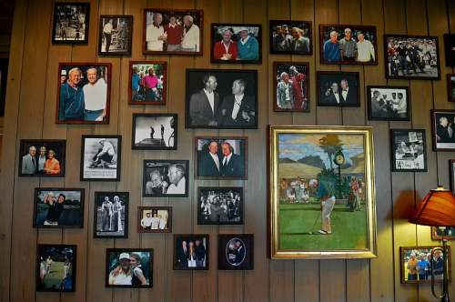 Golf memorabilia, photo by Mike Keenan