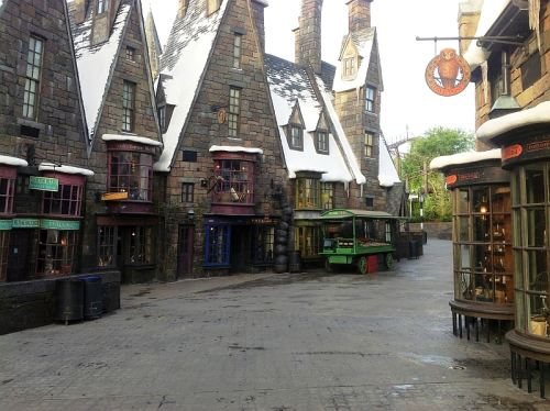 Harry Potter World, photo by Jane Hastelow