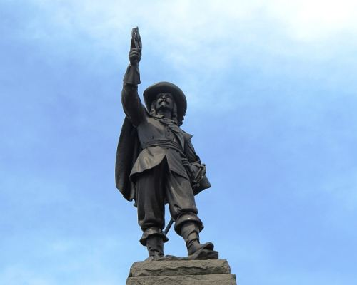 Champlain Statue, photo by Mike Keenan