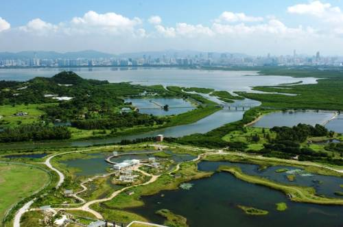 Hong Kong Wetland Park In New Territories