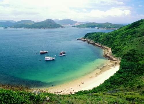 Sai Kung Country Park, Clear Water Bay Beach