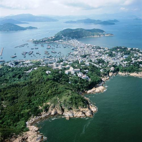 Shek O Village & Beaches From Top Of Dragons Back