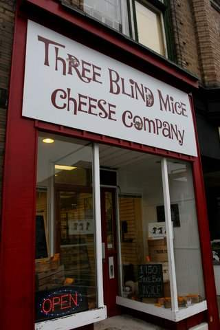 Three Blind Mice Cheese Factory