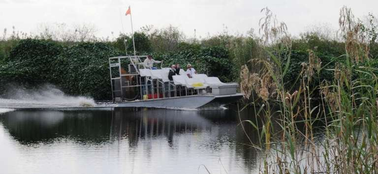 AirBoat In Action