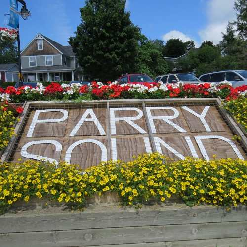 Parry Sound Flowerbox, photo by Mike Keenan