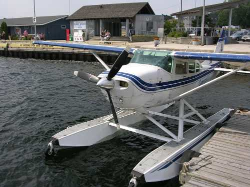 Parry Sound Sea Plane, photo by Mike Keenan