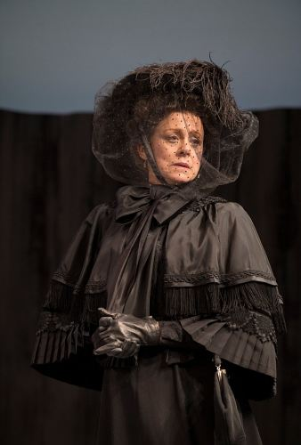 Fiona Reid as Louise Rafi in The Sea. Photo by David Cooper
