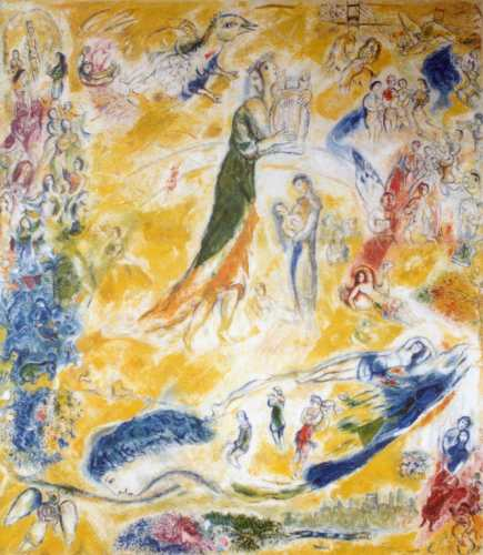 Marc Chagalls Sources of Music, Grand Tier North