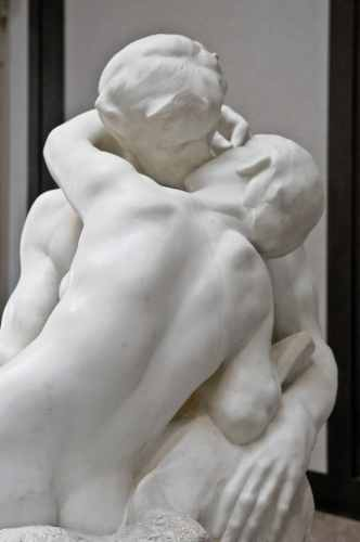 Rodin Museum, The Kiss, photo by Mike Keenan
