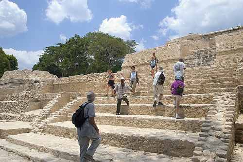 Belize, Central America, Ancient Steps, photo by CTA