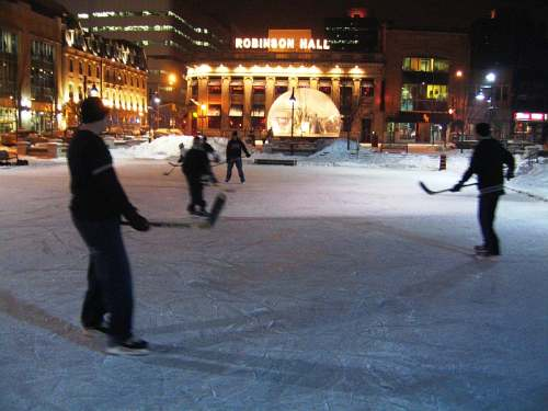London, Ontario skaters, photo by Tourism London