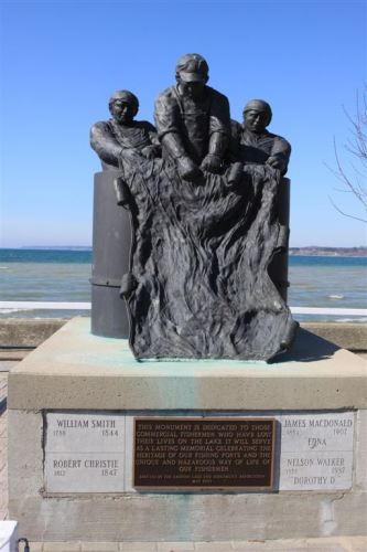 Lake Erie Fishermens Memorial Monument