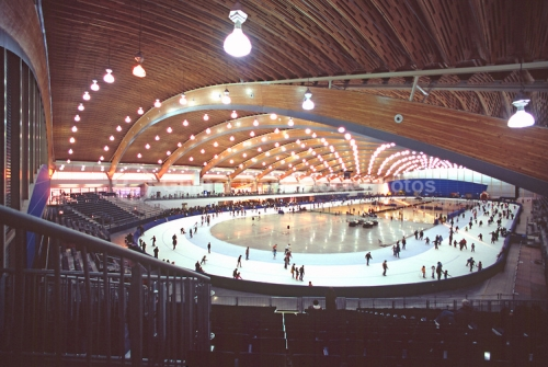 speed-skating facility