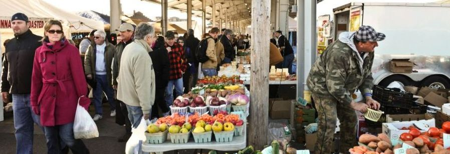 Saturday Morning At The Rochester Public Market