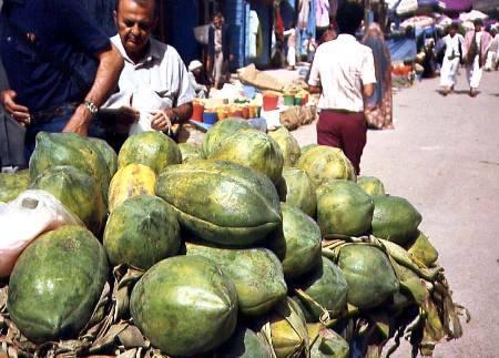 Papayas in Souk
