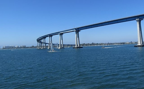 Coronado Bridge, photo by Mike Keenan