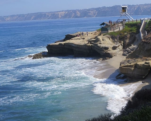 La Jolla Oceanscape, photo by Mike Keenan
