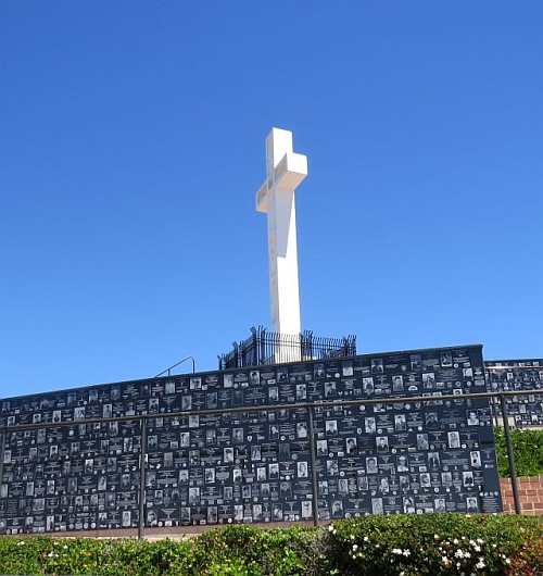 Mt. Soledad National Veterans Memorial, photo by Mike Keenan