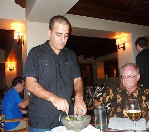 Guacamole Created Tableside at La Hacienda by Alfonso