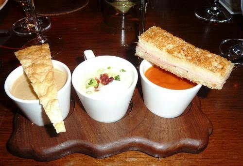 Soup Trio at Talavera