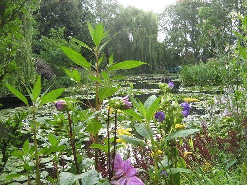 The beloved Claude Monet water lilies and other blooms attract millions of visitors to his estate at Giverny