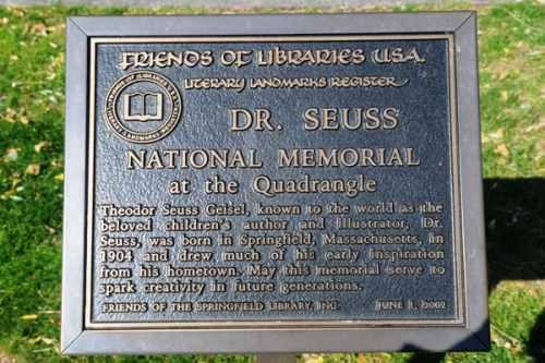 Seuss Plaque