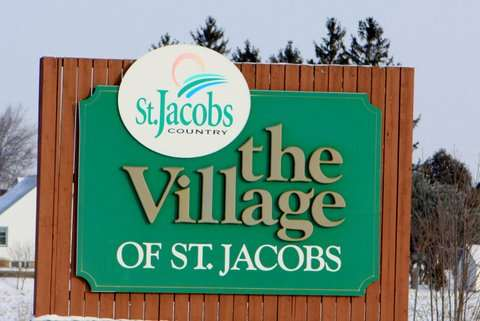 St. Jacobs Sign