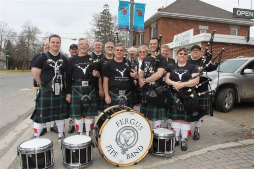 Fergus Pipe Band