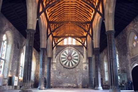 Great Hall, Only Remaining Part Of Winchester Cathedral