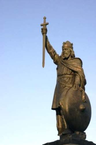 King Alfred The Great Statue - Hamo Thornycroft