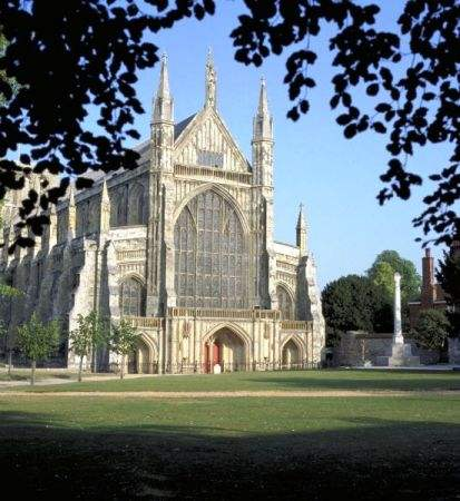 Winchester Cathedral - a place of worship for over 900 years in the ancient capital of England