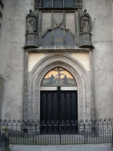 Front Door - Castle Church
