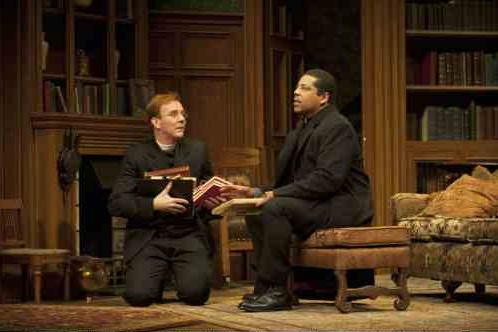 Graeme Somerville as The Reverend Lexy Mill and Nigel Shawn Williams as The Reverend James Mavor Morell  Photo by Emily Cooper