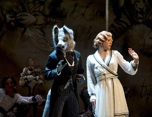 Billy Lake as The Wolf and Nicole Underhay as Lady Mary Lasenby