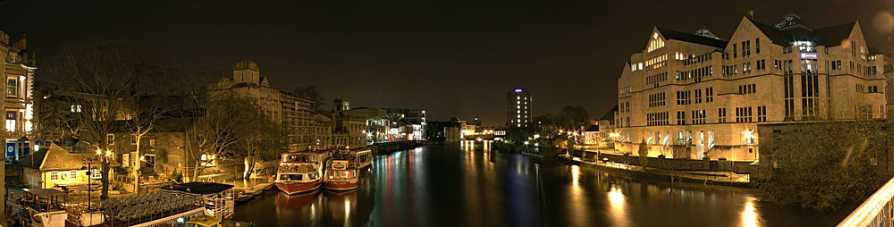 Panorama of the River Ouse