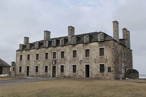 The French Castle inside Old Fort Niagara