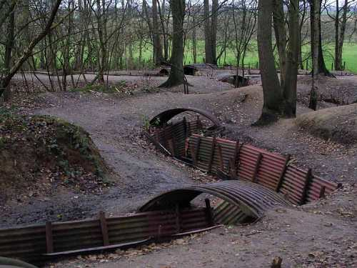 Trenches at Sanctuary Wood, Wikimedia Commons