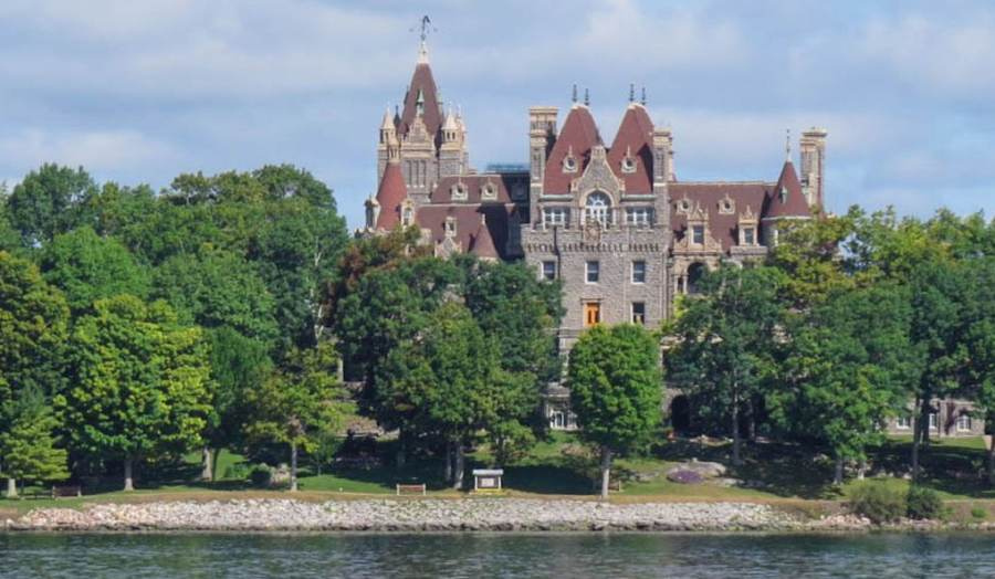 Boldt Castle, Uncle Sam 2 Nation Boat Tour, photo by Mike Keenan