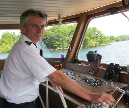Captain Tim Brooks, photo by Mike Keenan