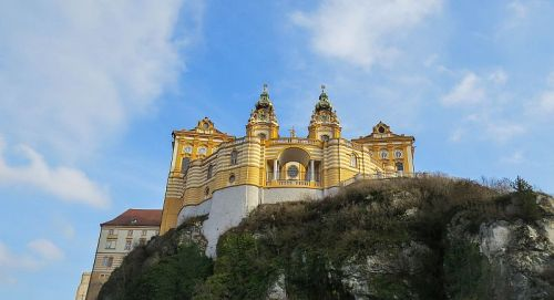 Melk Abbey exterior, photo by Mike Keenan