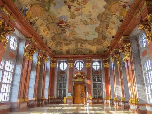 Melk Abbey interior, photo by Mike Keenan