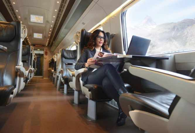 First Class Trenitalia, photo by Eurail