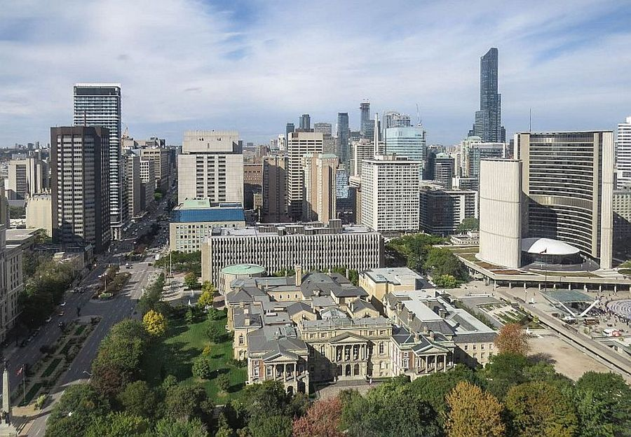 Hilton Toronto  Margery Steele Suite view, photo by Mike Keenan