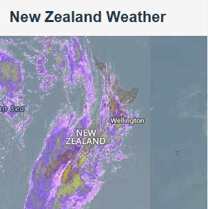 Auckland New Zealand Weather